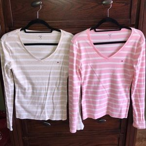 2 Tommy Hilfiger Long Sleeves